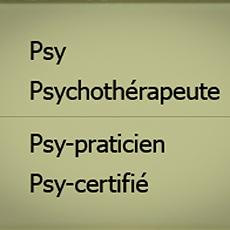 Psy praticien, Psy certifié… ou psy